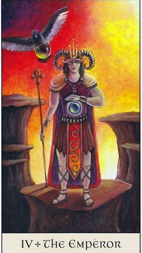 Tarot Series~Major Arcana Card 4: The Emperor