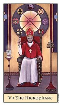 Tarot Series~Major Arcana Card 5: TheHierophant