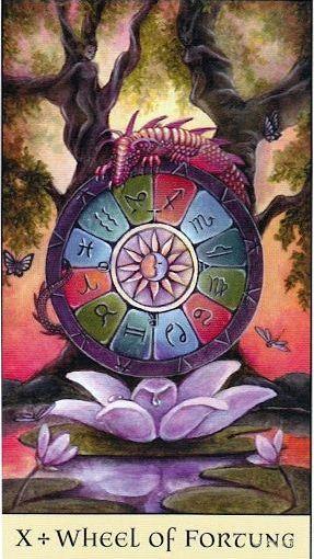 Tarot Series~Major Arcana Card 10: Wheel ofFortune