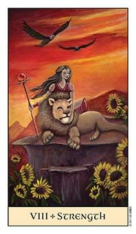 Tarot Series~Major Acrana Card 8:Strength