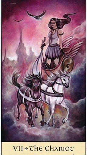 Tarot Series~Major Arcana Card 7: TheChariot