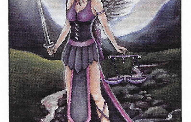 Tarot Series~Major Arcana Card 11: Justice