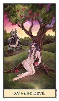Tarot Series~Major Arcana Card 15: The Devil