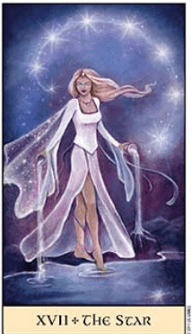 Tarot Series~Major Arcana Card 17: The star