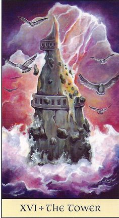 Tarot Series~Major Arcana Card 16: The Tower