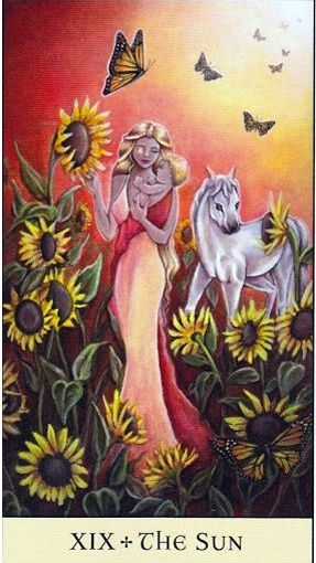 Tarot Series~Major Arcana Card 19: The Sun