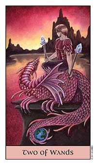 Tarot Series~Minor Arcana: Two of Wands