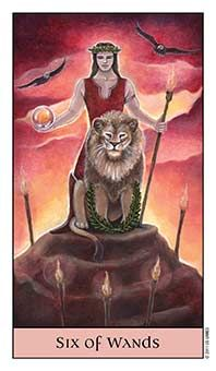 Tarot Series~Minor Arcana: Six of Wands