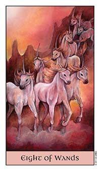 Tarot Series~Minor Arcana: Eight ofWands