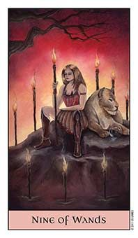 Tarot Series~Minor Arcana: Nine of Wands