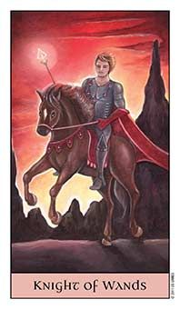 Tarot Series~Minor Arcana: Knight of Wands