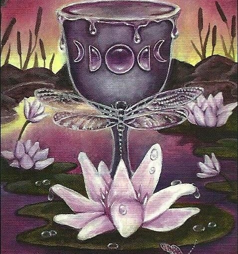 Tarot Series~Minor Arcana: Ace of Cups