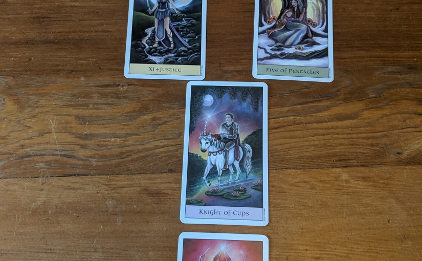 Weekly Tarot Series: Grief Tarot Spread
