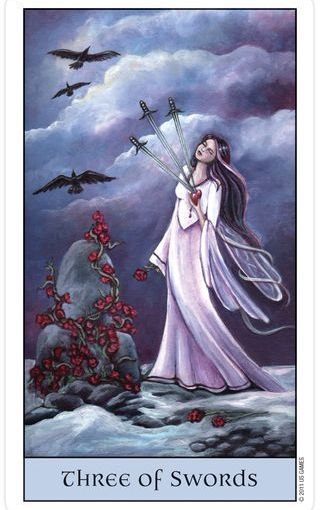 Tarot Series~Minor Arcana: Three of Swords