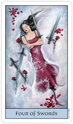 Tarot Series~Minor Arcana: Four of Swords