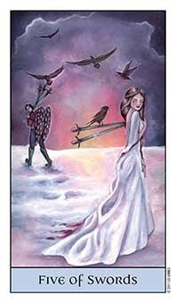 Tarot Series~Minor Arcana: Five of Swords