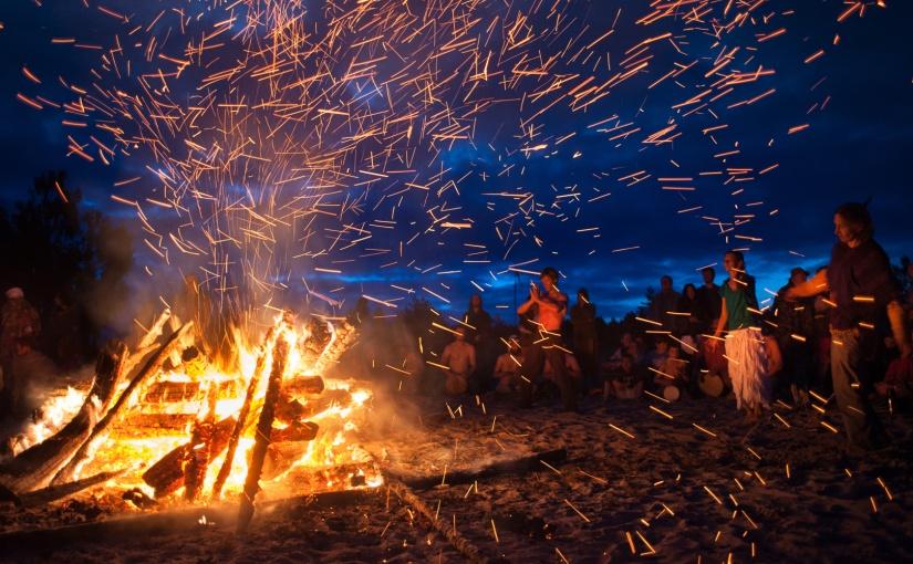Bonfire Litha Ritual