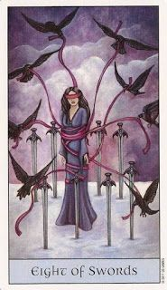 Tarot Series~Minor Arcana: Eight of Swords