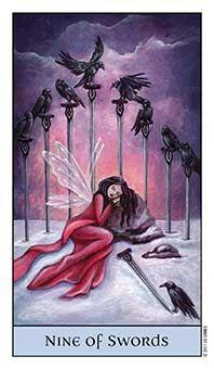 Tarot Series~Minor Arcana: Nine ofSwords