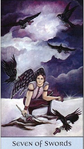 Tarot Series~Minor Arcana: Seven of Swords