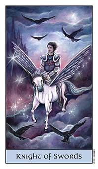 Tarot Series~ Minor Arcana: Knight of Swords