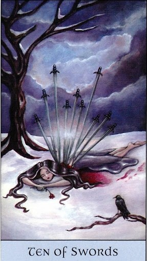 Tarot Series~Minor Arcana: Ten of Swords