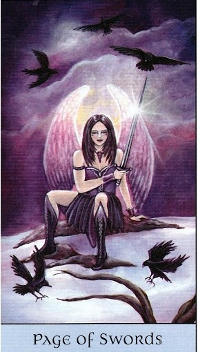 Tarot Series~Minor Arcana: Page of Swords