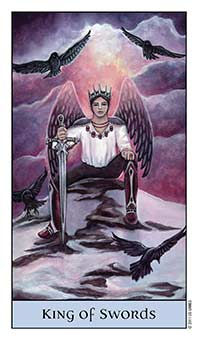 Tarot Series~Minor Arcana: King of Swords
