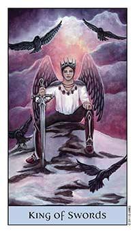 Tarot Series~Minor Arcana: King ofSwords