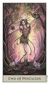 Tarot Series~Minor Arcana: Two of Pentacles